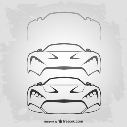 Vitnage Car Logo Template Free Vector