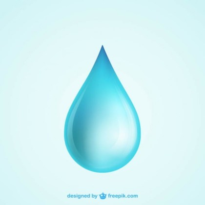 Water Drop Free Vector
