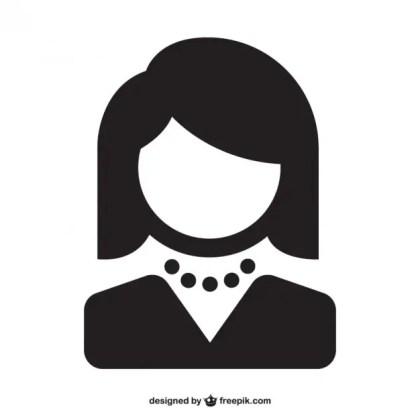 Woman Avatar Free Vector