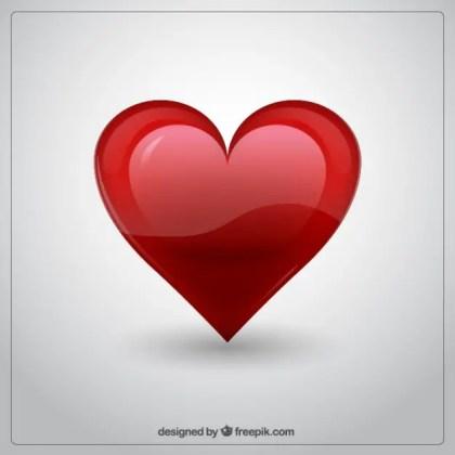 3D Heart Free Vector