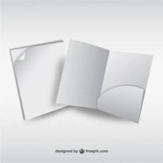 3D Paper Elements Free Vector