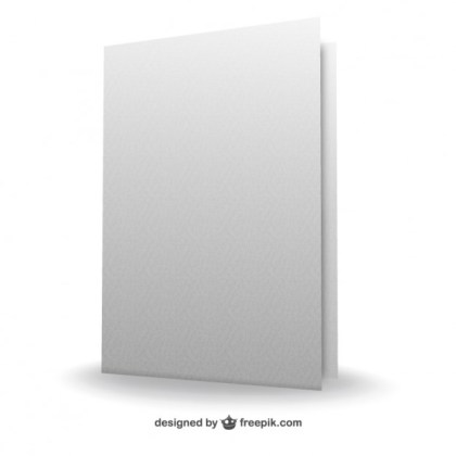 3D Sheets of Paper Free Vector