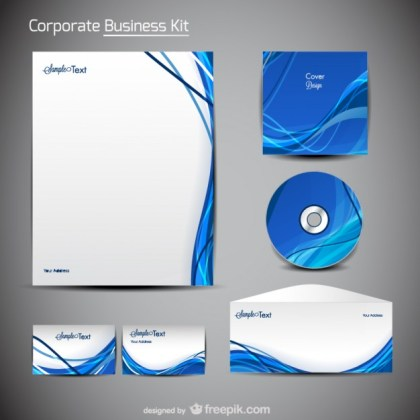 A Trend Merchandise Packaging Design Material Free Vector