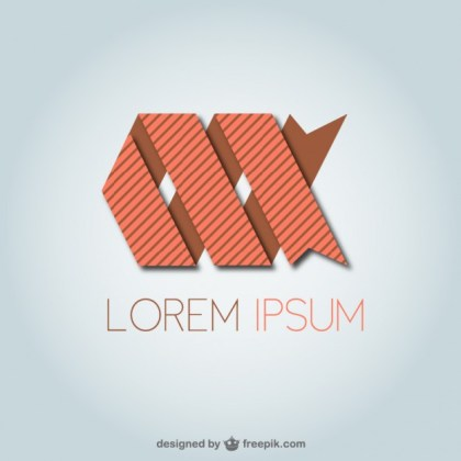 Abstract Logo Template Free Vector