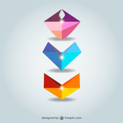 Abstract Shapes Collection Download Free Vector