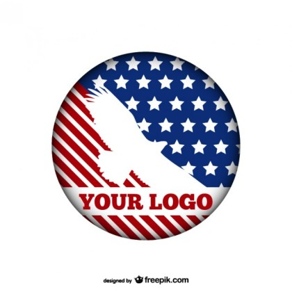 American Eagle Logo Template Free Vector