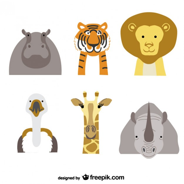 Animals Pack Free Vector