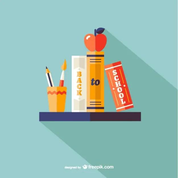 Back To School Design Free Vector