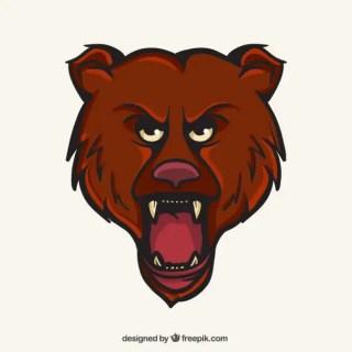 Bear Mascot Free Vector