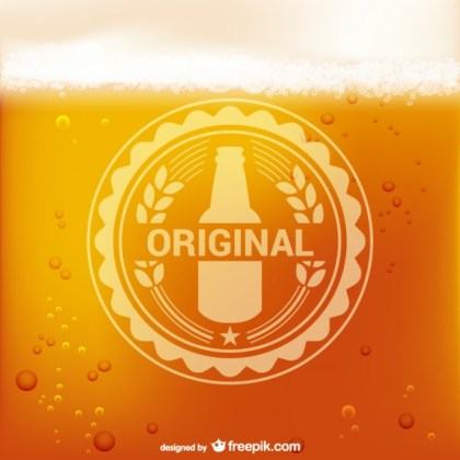 Beer Logo Free Vector