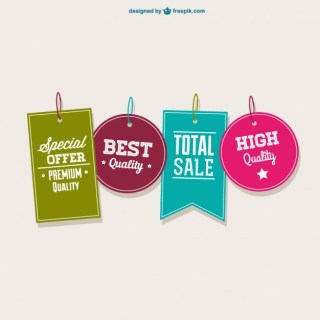 Best Offer Tags Free Vector