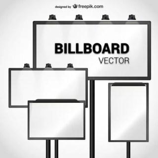 Billboard Pack Free Vector