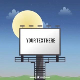 Billboard Template Free Vector