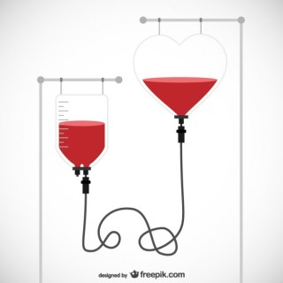 Blood Donation Free Vector