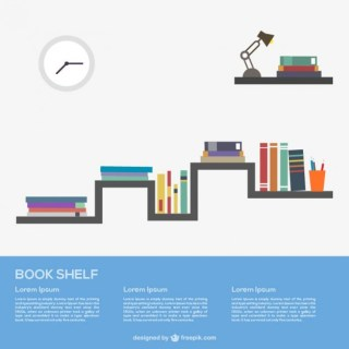 Books on The Shelf Free Vector