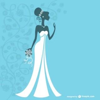Bride Graphics Free Vector