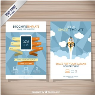 Brochure Template Free Vector