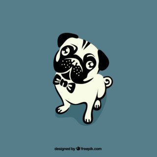 Bulldog Outline Free Vector