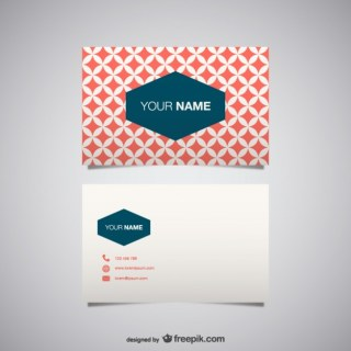 Business Card for Download Free Vector