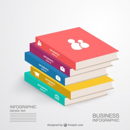 Business Knowledge Infographics Free Vector