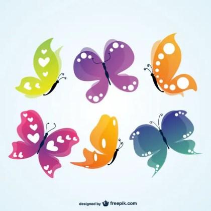 Butterflies Image Free Vector