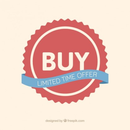 Buy Badge Free Vector