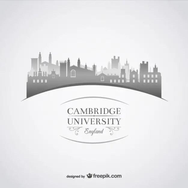 Cambridge University Illustration Free Vector