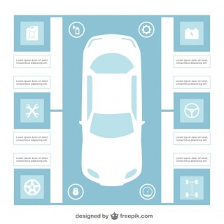 Car Infographic Template Free Vector