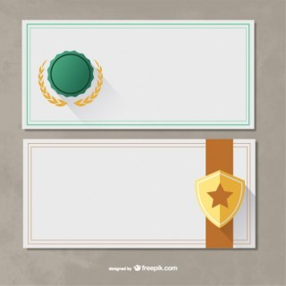 Certificate Templates Pack Free Vector