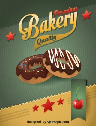 Chocolate Donuts Free Vector