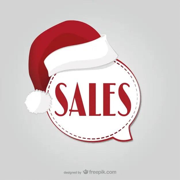 Christmas Sales Label Free Vector 123Freevectors