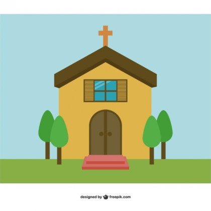 Church Background Free Vector