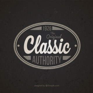Classic Authority Badge Free Vector