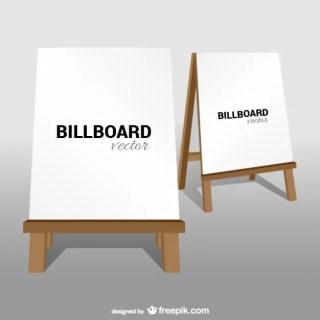 Classic Billboard Free Vector