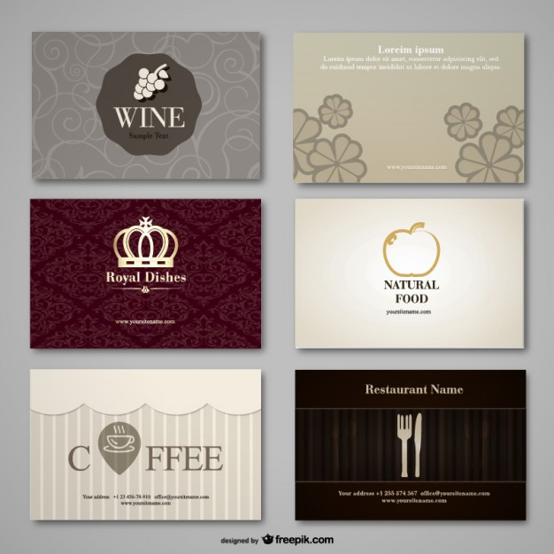 Classic Coffee Label Free Vector