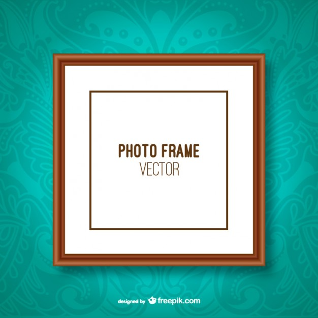 Classic Photo Frame Free Vector