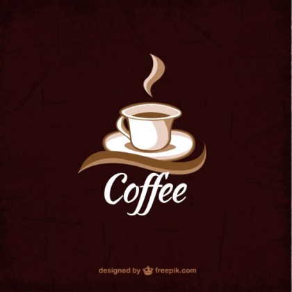 Coffee Cup Background Free Vector