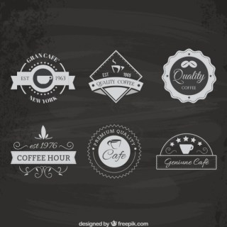 Coffee House Logo Pack Free Vector
