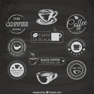 Coffee Logos Free Vector