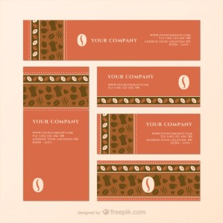 Coffee Templates Pack Free Vector