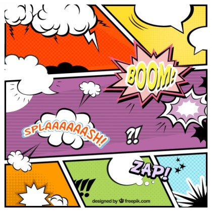 Comic Speech Bubbles Collection Free Vector