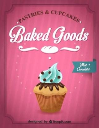 Cupcake Graphics Free Vector