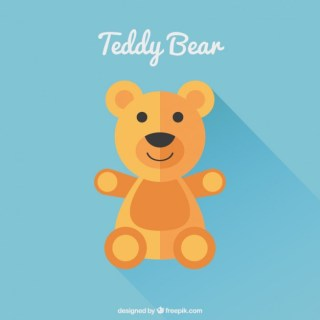 Cute Teddy Bear Free Vector