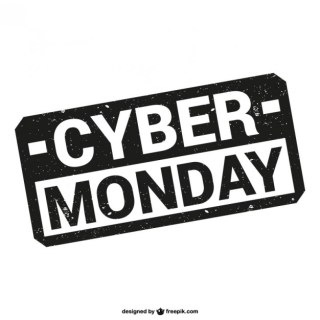 Cyber Monday Stamp Free Vector