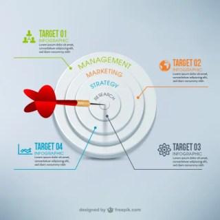 Darts Infographic Free Vector
