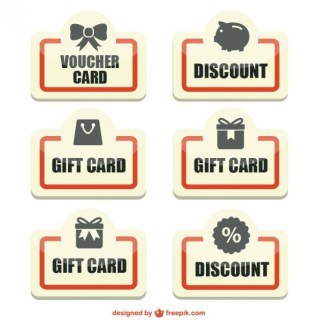 Discount Stickers Pack Free Vector