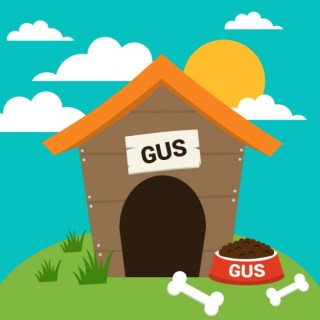 Dog House Illustration Free Vector