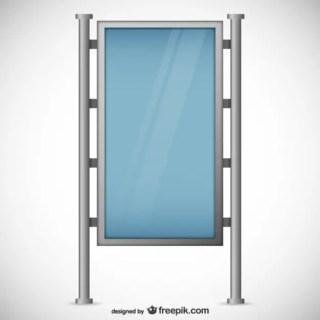 Download Glass Billboard Free Vector