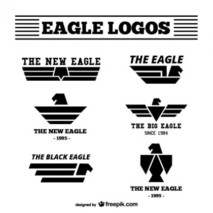 Eagle Logos Pack Free Vector