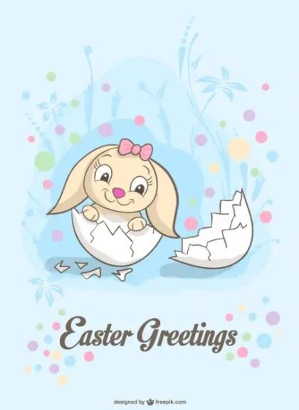Easter Surprize Illustration Free Vector